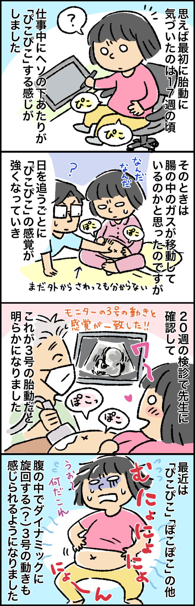胎児の胎動